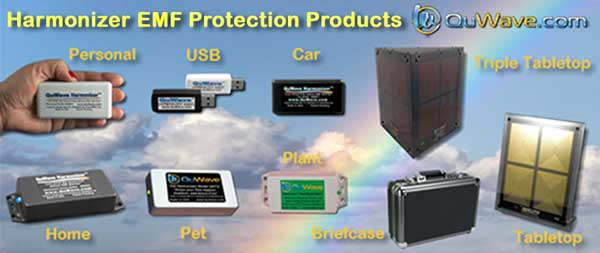 quwave emf protection products