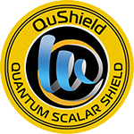 qushield emf protection sticker